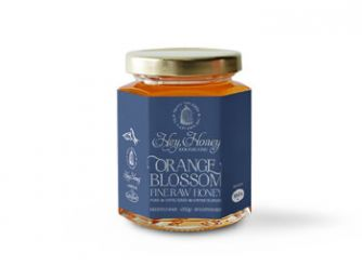Gourmet Orange Blossom Raw Honey