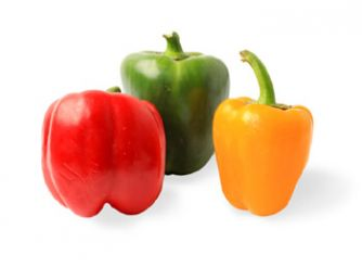 Sara's Organic Mixed Coloured Capsicum