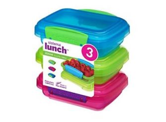 Sistema Lunch 3 Pack Boxes