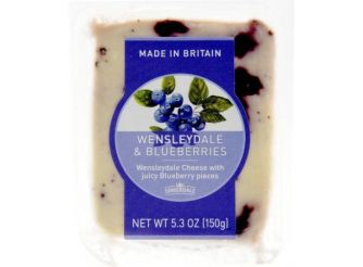 Somerdale Wensleydale & Blueberries Cheese