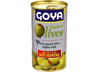 Goya Olives Stuffed With Minced Hot Peppers