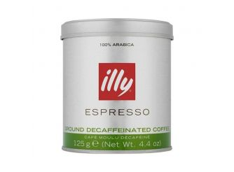 illy Ground Espresso Decaffeinated Coffee