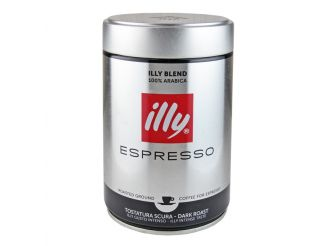 Illy Ground Espresso Dark Roast Coffee