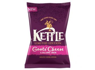 Kettle Chips Goats Cheese and Balsamic Onion