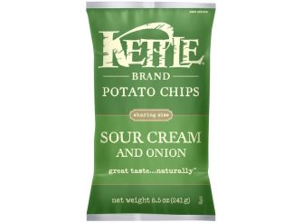 Kettle Brand Potato Chips Sour Cream & Onion