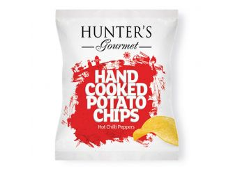 Hunter's Gourmet Hand Cooked Potato Chips – Hot Chilli Peppers
