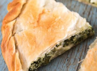 Spanakopita (Greek Spinach Cheese Pie)