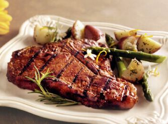 Porterhouse Steak with Potatoes