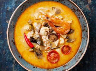 The Easiest Tom Yam Soup