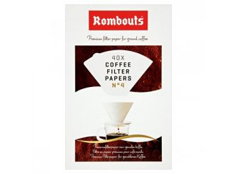 Rombouts Coffee Filter Papers No. 4