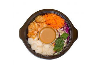 Gourmet Shrimp Summer Bowl