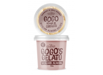 GOGO'S GELATO Sicilian Almond with Figs NEW