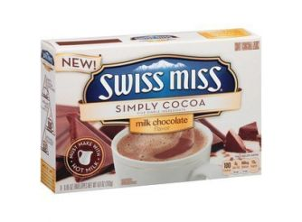 Swiss Miss Simply Cocoa Milk Chocolate Hot Cocoa