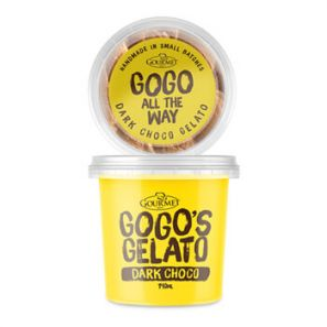 GOGO'S GELATO Dark Chocolate