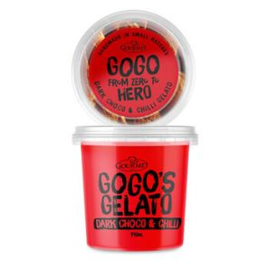 GOGO'S GELATO Dark Chocolate & Chilli