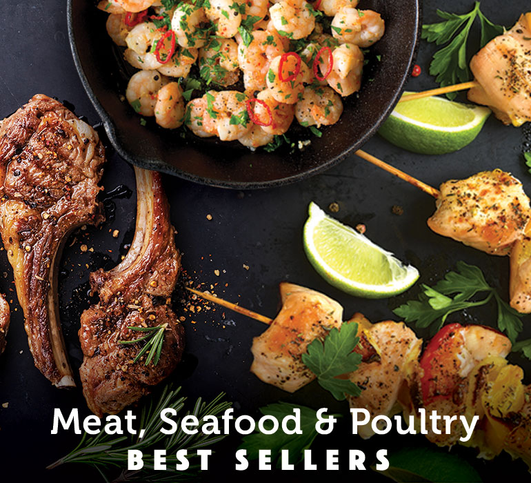 Meat, poultry & Seafood