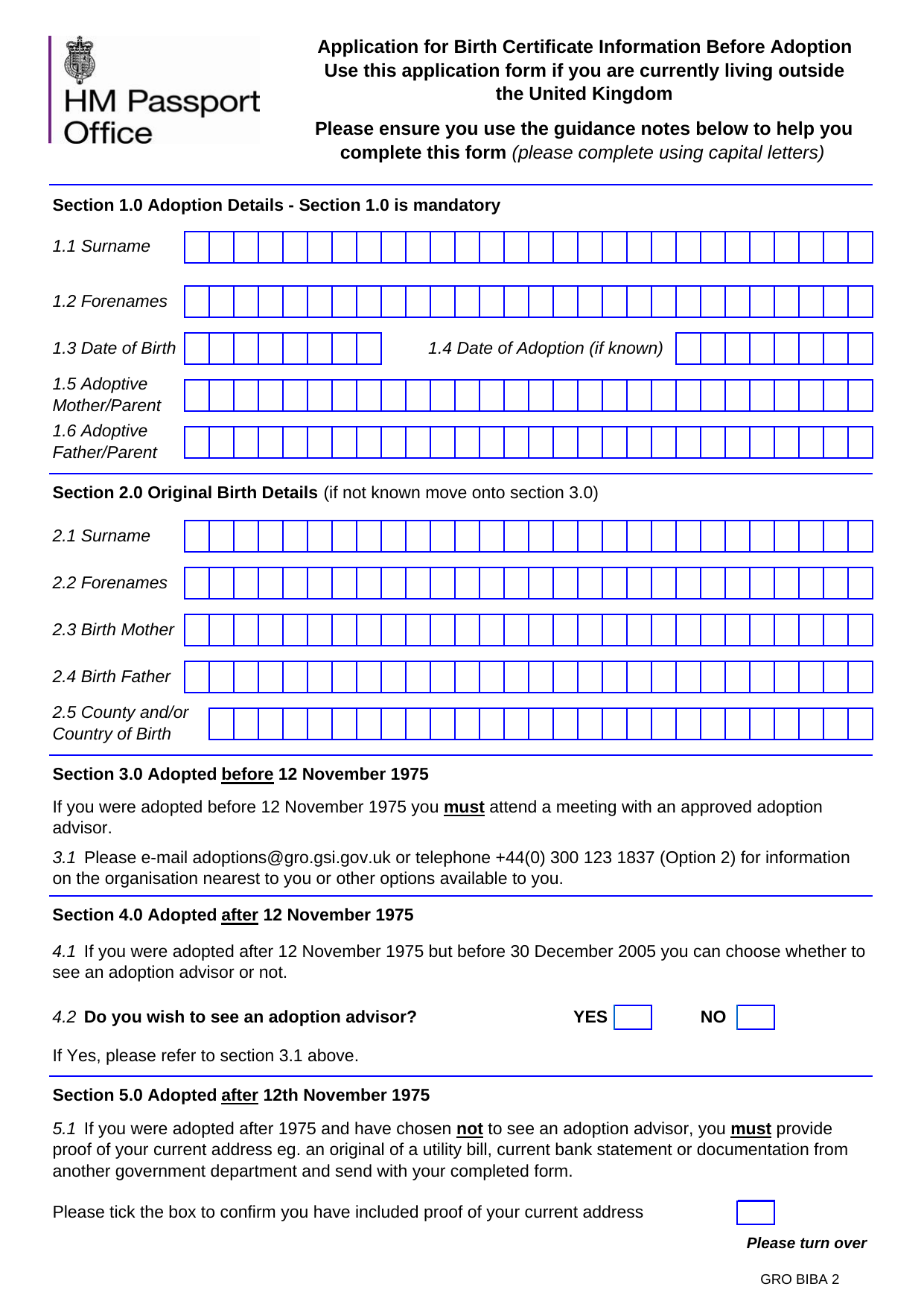 Form explorer attachment application form to get birth certificate information outside the uk aiddatafo Gallery