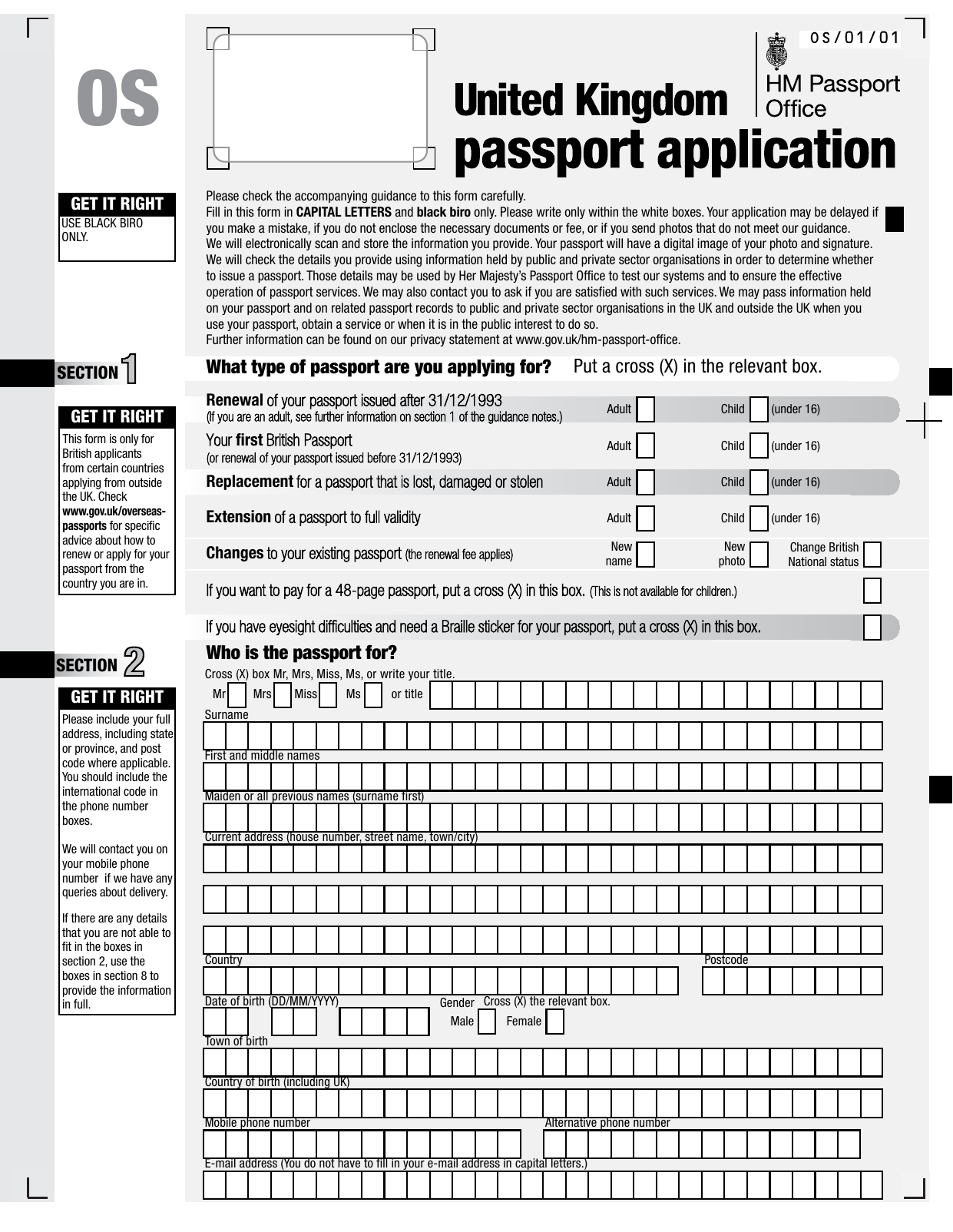 Form explorer attachment applying for a passport from outside the uk application form falaconquin