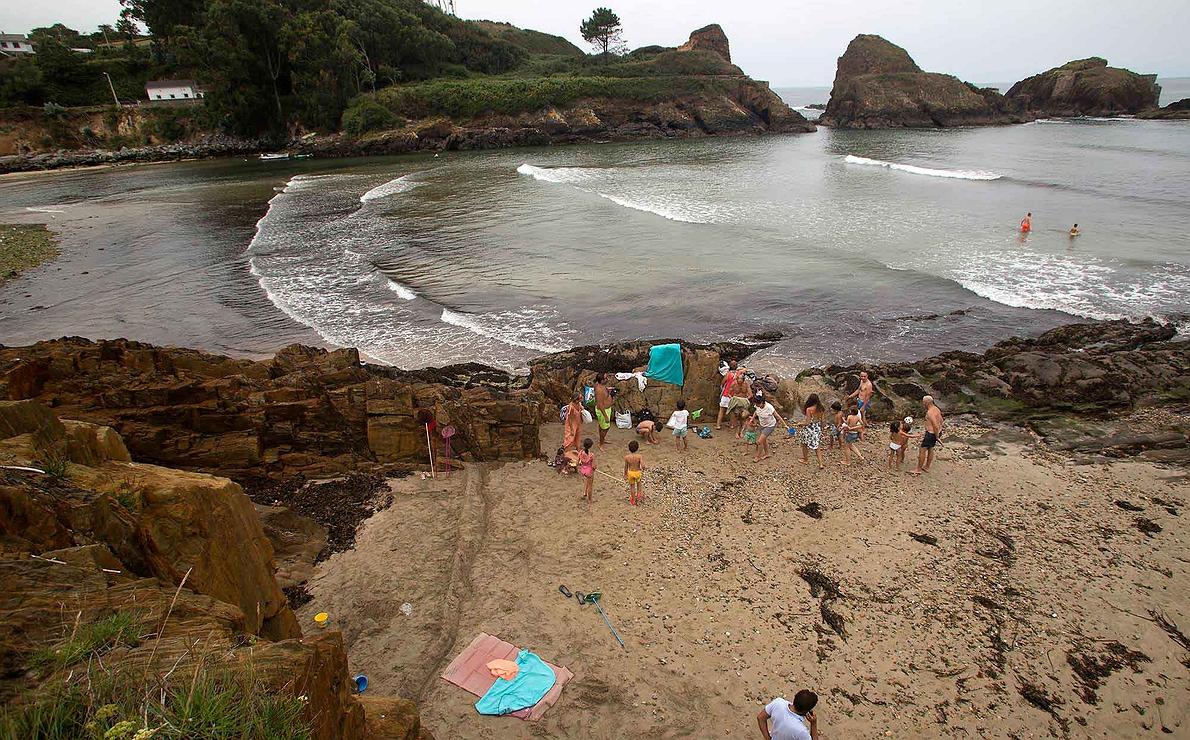 Asturias - Playa de Porcía desde otra perspectiva