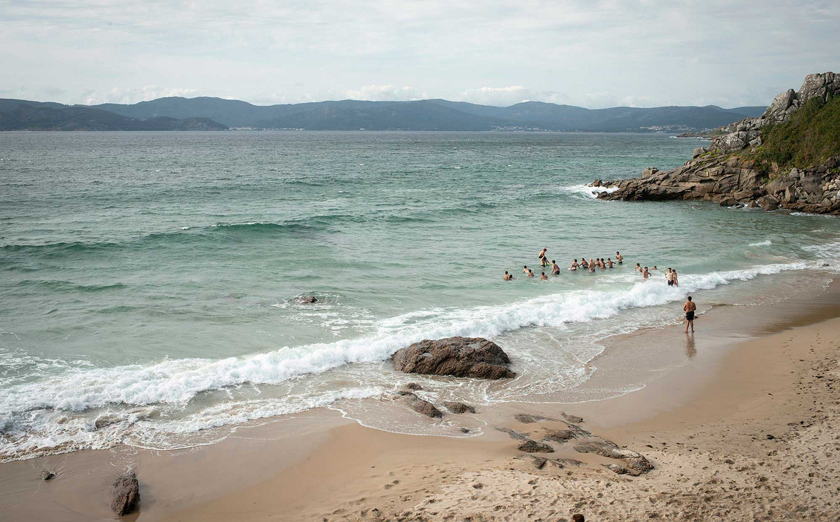 Galicia - Playa de Fonforrón de Porto do Son