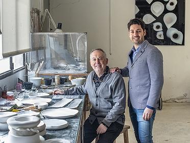 Pordamsa: vajillas de porcelana para chefs (Girona)