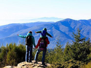 Ruta por el parque natural de Montseny (Barcelona)