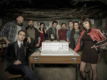 Los escenarios de rodaje de la serie 'La Casa de Papel'