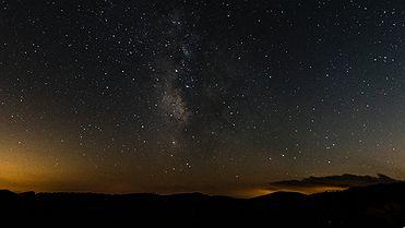 Observación de estrellas en la sierra de Gúdar-Javalambre (Teruel)