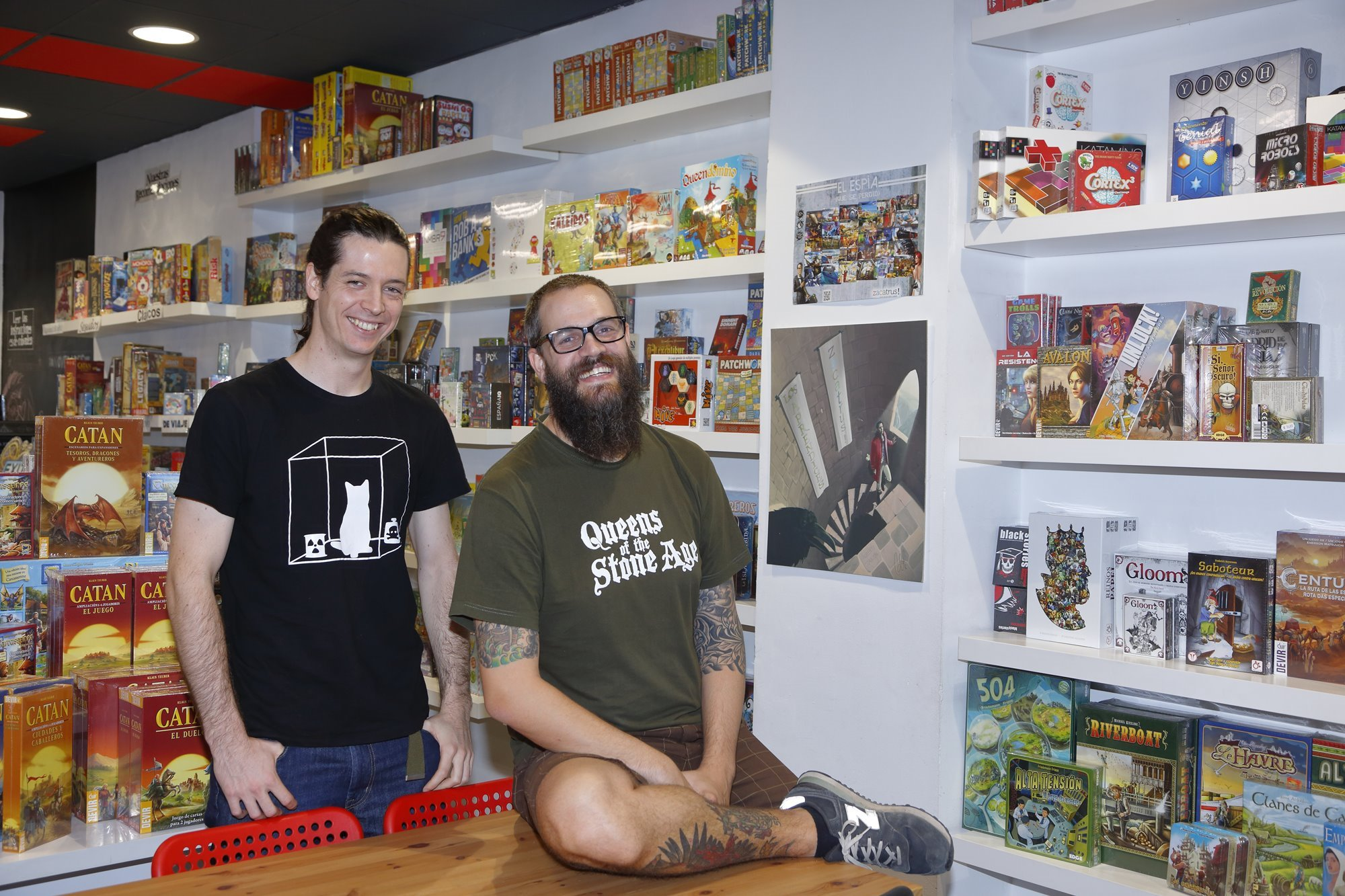 Alberto Corazón y Jorge Falcones son los responsables de 'Zacatrús'.