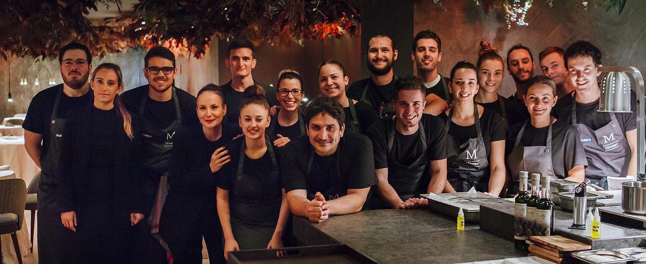 Restaurante pop up 'Mirazur in Residence', de Mauro Colagreco (Madrid)
