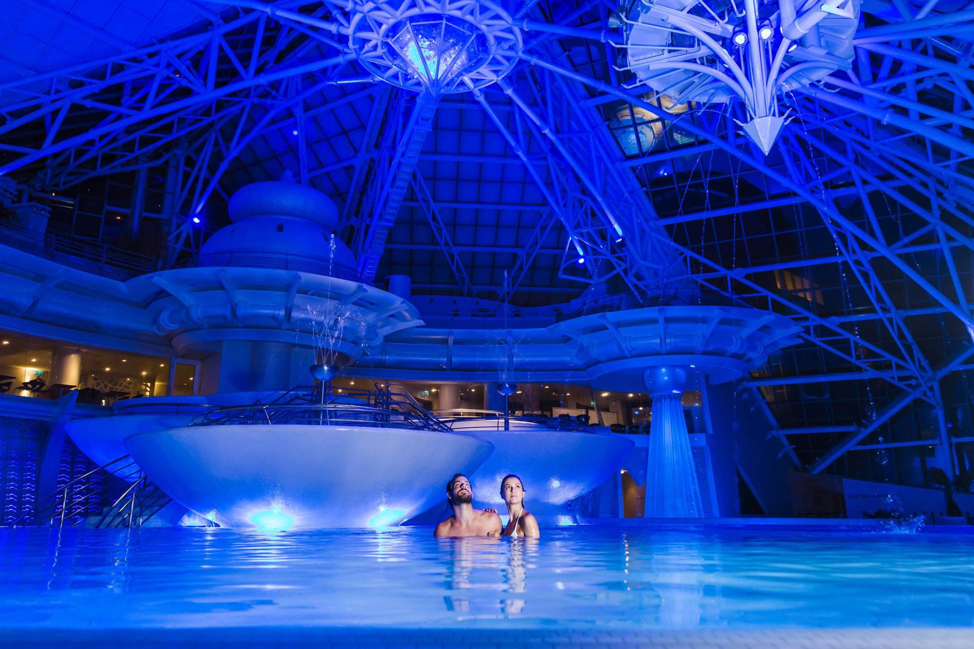 La entrada a Inúu, un masaje a dúo  y el acceso al 'spa' privado cuesta 129 euros por persona. Foto: Facebook Caldea.