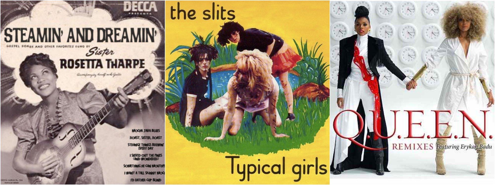 Cover de álbumes de mujeres cantantes (2)