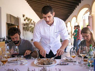 Restaurante 'Cataria' (Cádiz) de Aitor Arregi