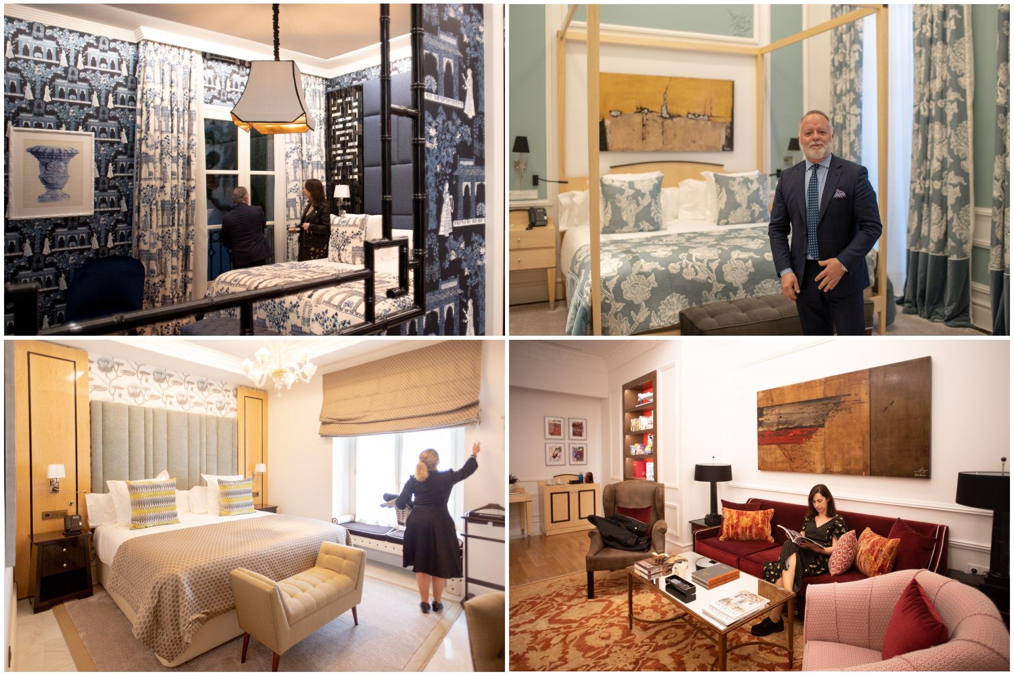 Cada una de las 21 habitaciones es diferente. La oriental es una de las favoritas de los clientes.