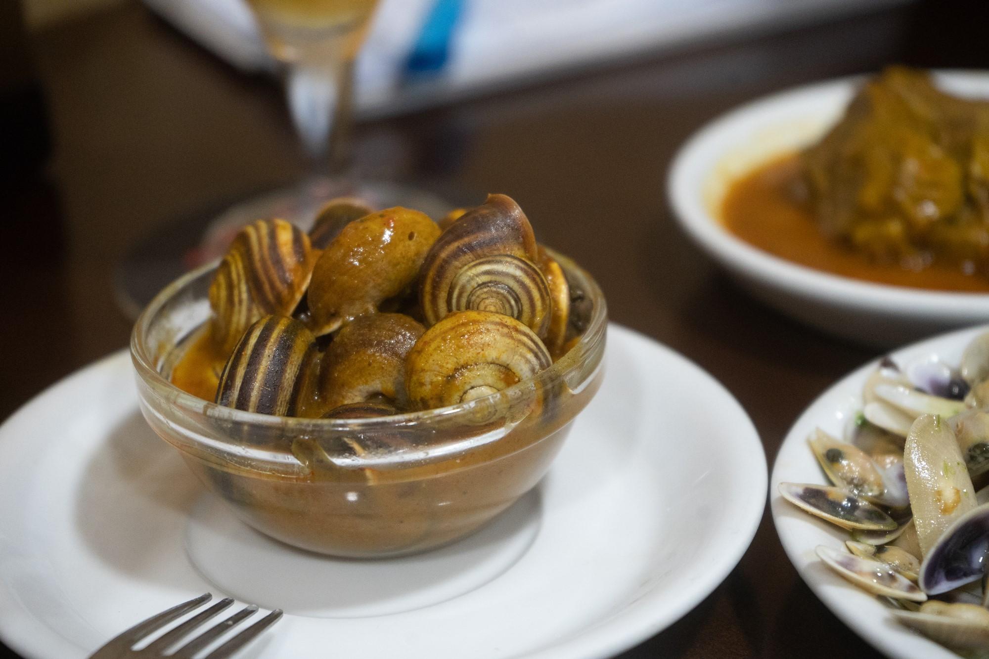 El caracol es una de las especialidades de 'Castelar'.