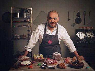 Alejandro Montes (Mamá Framboise) y la alta pastelería en Madrid
