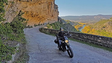 Ruta en moto por el Alto Tajo (Guadalajara)
