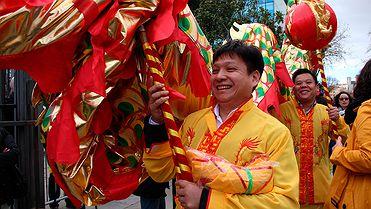 Celebración del Año Nuevo chino en España