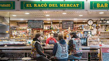 Bares en mercados de Barcelona