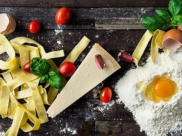 Ingredientes básicos de la cocina italiana
