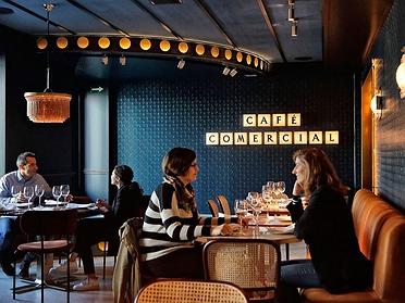 'Café Comercial' de Madrid, cafetería con encanto