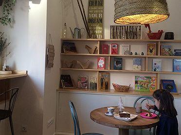 Cafeterías con niños en Madrid