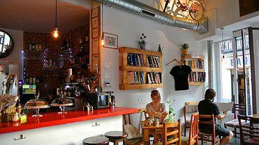 Cafeterías creativas en Madrid