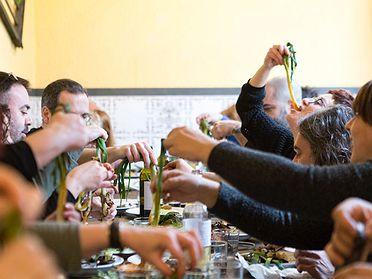 Restaurantes para tomar 'calçots' en Barcelona