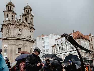 Carnaval de Pontevedra y el loro Ravachol