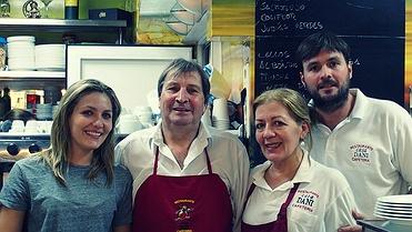 Menú del día: 'Casa Dani' (Mercado de la Paz, Madrid)