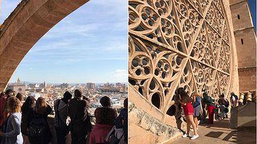 Ruta por las terrazas de la catedral de Palma de Mallorca