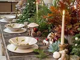 """Un centro de mesa para que """"reine la paz"""""""