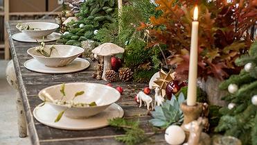 Centro de Navidad para que reine la paz