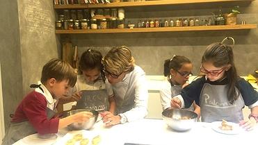 Escuelas y cursos de cocina para niños en Madrid